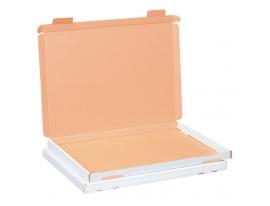 Großbriefkarton weiß 350x250x20mm