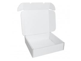 Klappbox weiß 340x325x115mm