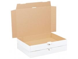Maxibriefkarton weiß 350x250x50mm