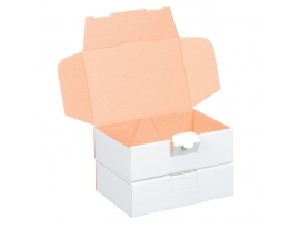 Maxibriefkarton weiß 160x110x50mm