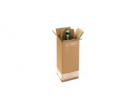 Bierversandverpackung für 1 Flasche 0,33L